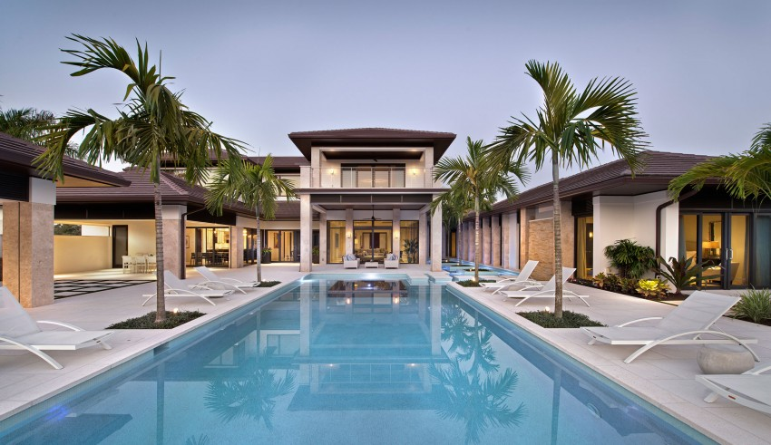 Case da sogno una villa sorprendente for Belle case con piscine