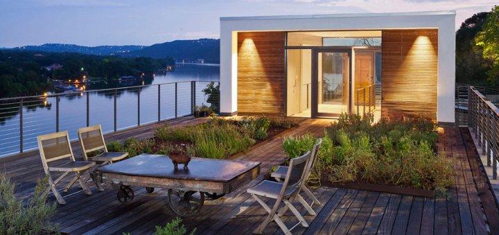 Una casa al lago tra moderna eleganza e un sapiente for Comprare casa al lago