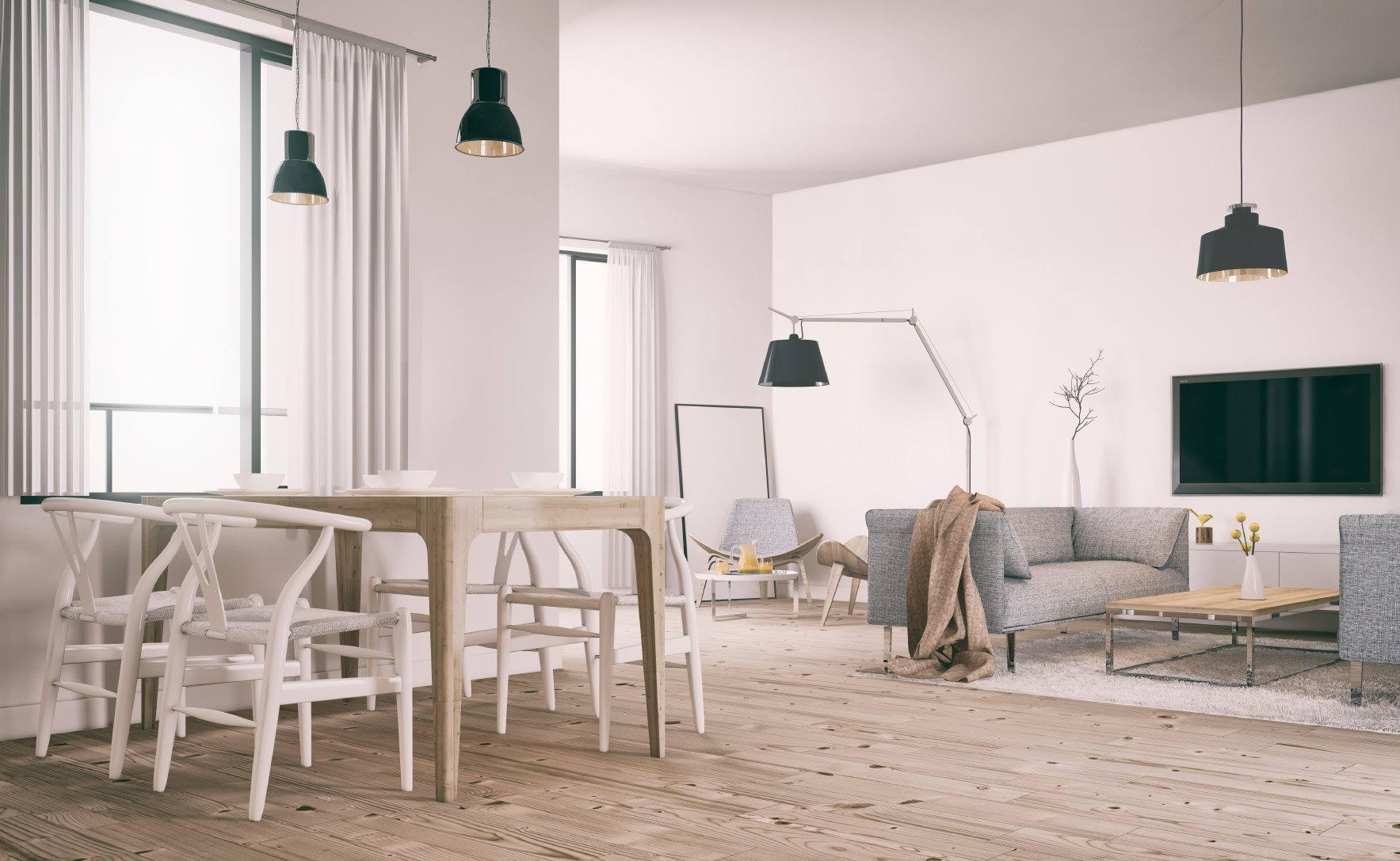 Design scandinavo come arredare la casa in stile for Case in stile williamsburg