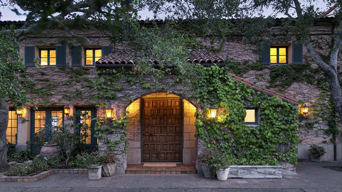 Jeff bridges in vendita la villa da sogno ispirata allo for Piani di casa in stile toscano