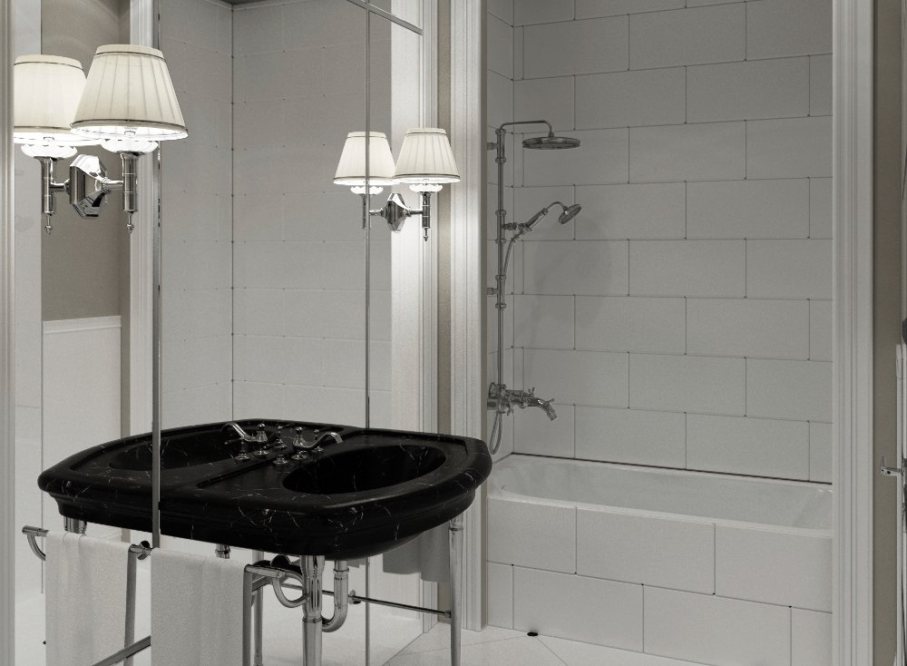Bagno classico lo stile anche in bagno - Arredo bagno classico elegante prezzi ...