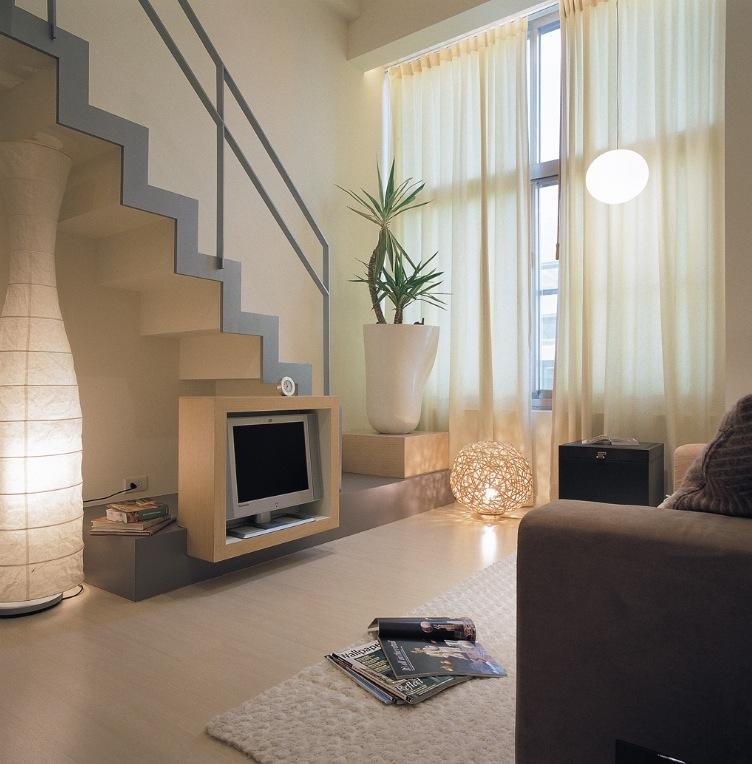 Piccoli spazi: una casa con soppalco - Casa.it