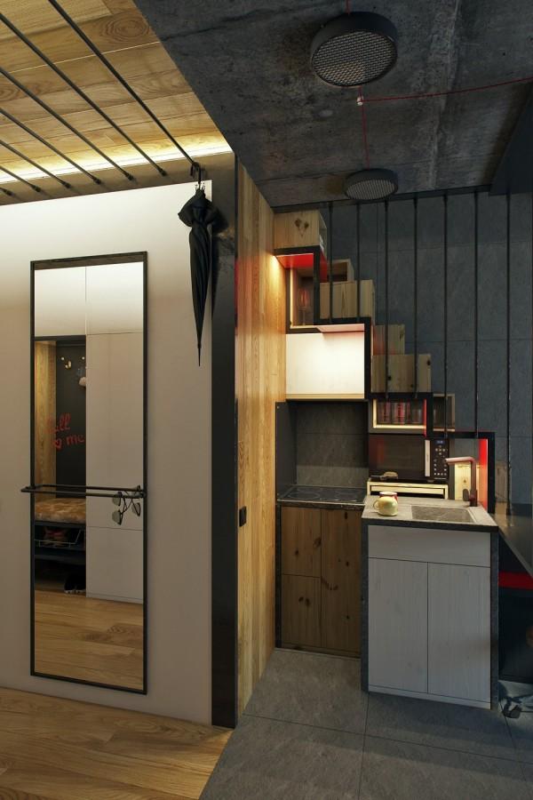 Cucina E Soggiorno In 18 Mq.Un Micro Appartamento Di 18 Mq Spaziosissimo Casa It