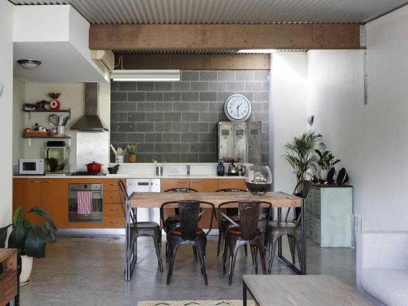 cucina giovane e moderna