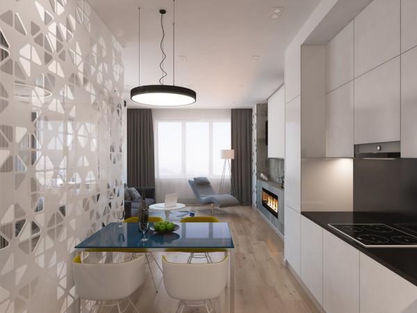 Piccoli spazi: la parete di vetro per dividere gli ambienti - Casa.it