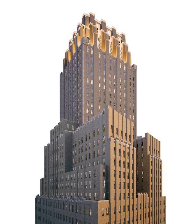 100 Barclay, renderings by Williams New York