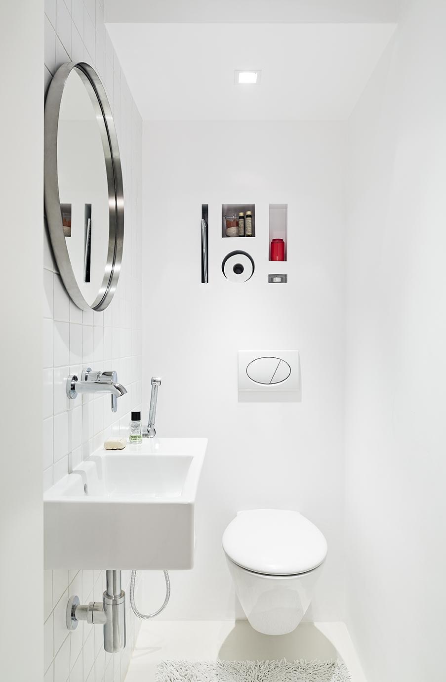 Razionalizzare gli spazi in casa ecco un bell - Cam nascosta bagno ...