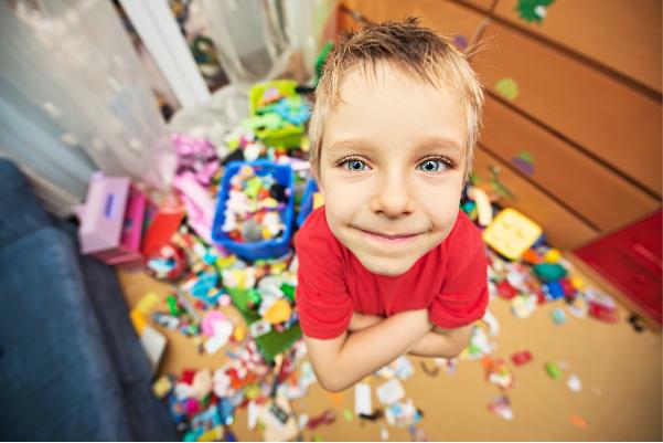 organizzare lo spazio dei giochi in casa
