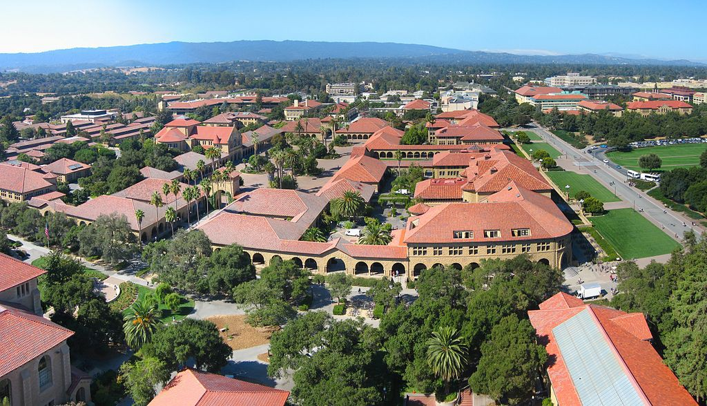 """Stanford University"". via Wikimedia Commons - by Jawed"