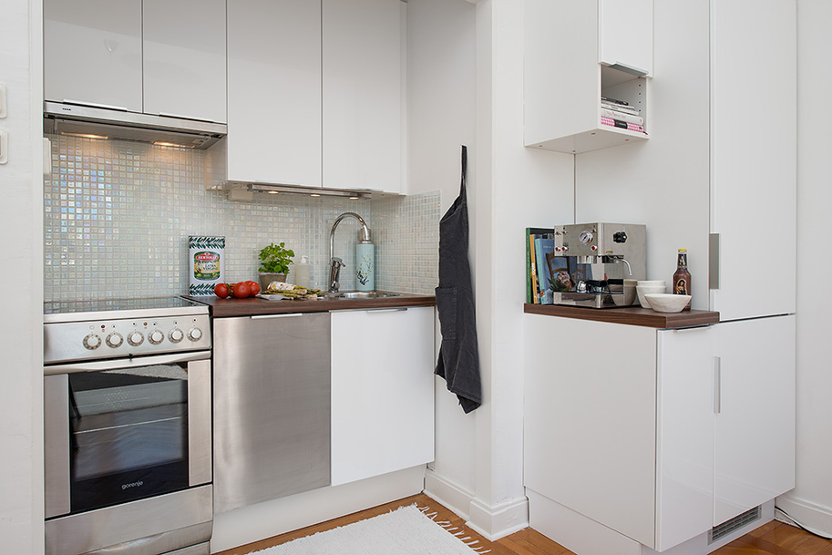 Studio Apartment Kitchen Design: Un Monolocale Ideale Per Uno Studente