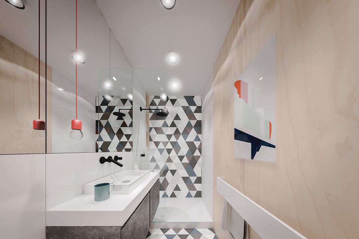 Interni extra small luce e spazio in un monolocale di 20 for Arredare corridoio stretto e corto