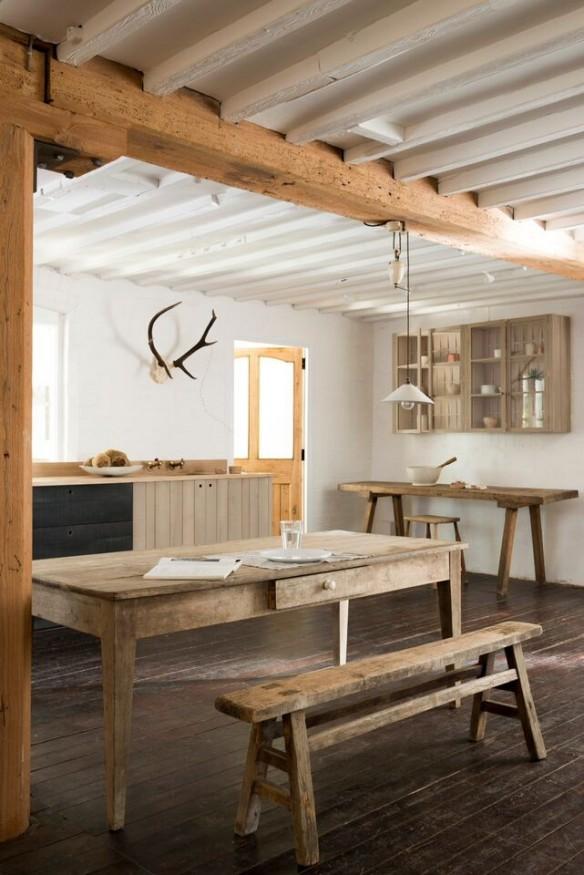 cucina stile rustico contemporaneo
