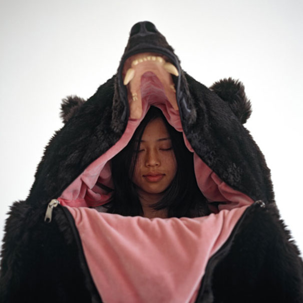 sacco a pelo orso