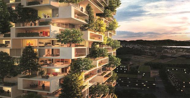 La torre dei cedri il nuovo bosco verticale di stefano for Bosco verticale architetto