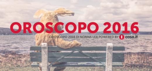 OROSCOPO 2016 NONNA LEA