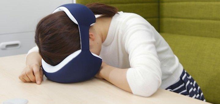 cuscino per dormire ovunque