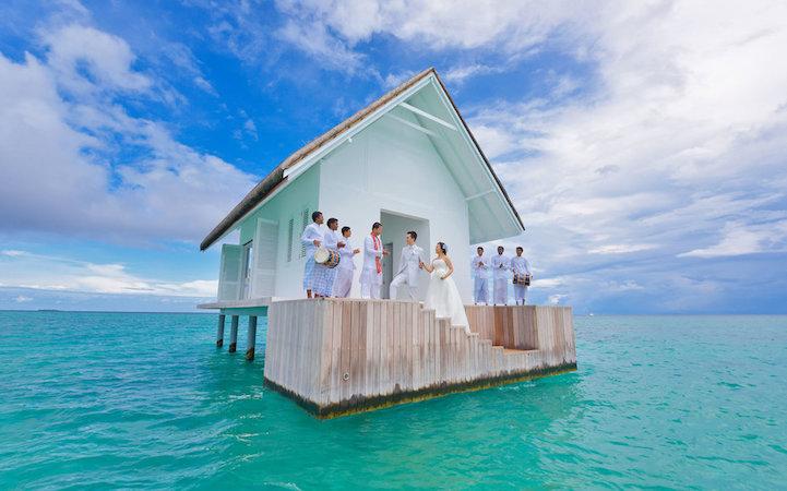 Matrimonio Simbolico Alle Maldive : Case incredibili casa
