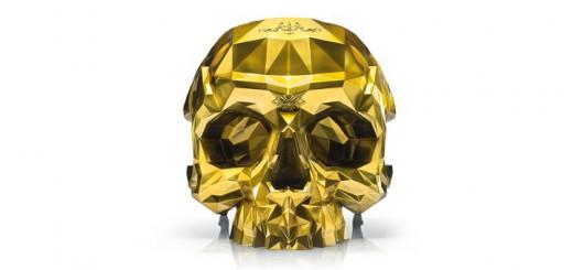 poltrona d'oro teschio