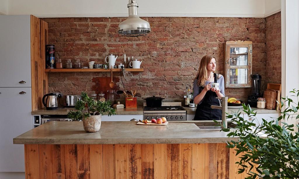 cucina-mattoni-a-vista
