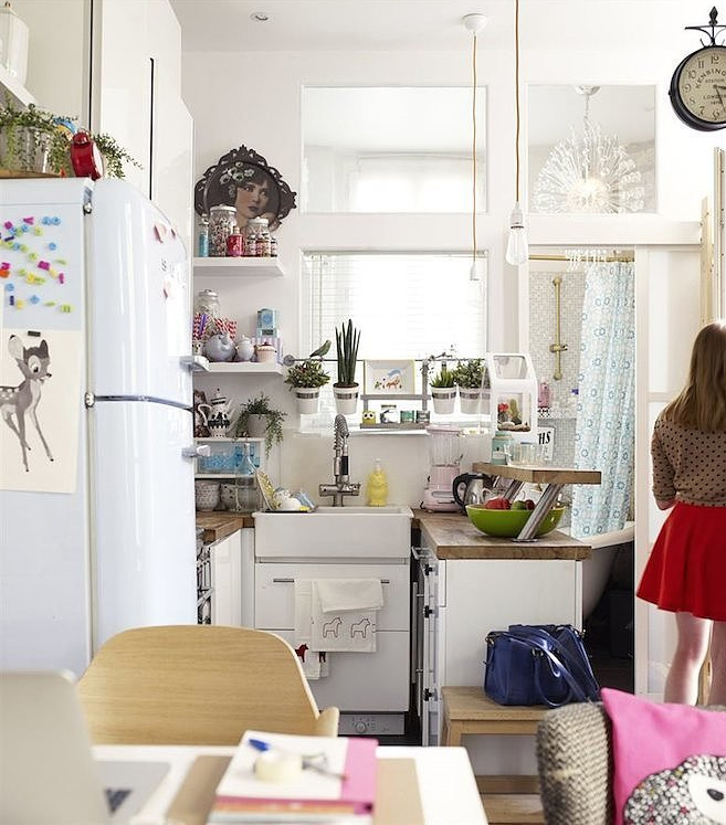 35 mq di stile a parigi for Ikea 35 mq