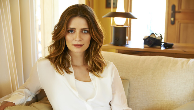 WOLGAN VALLEY, AUSTRALIA - OCTOBER 2: In this handout photo provided by Emirates, Actress turned fashion designer Mischa Barton poses at the Emirates Wolgan Valley Resort & Spa on October 2, 2012 in Wolgan Valley, Australia. (Photo by Emirates via Getty Images)