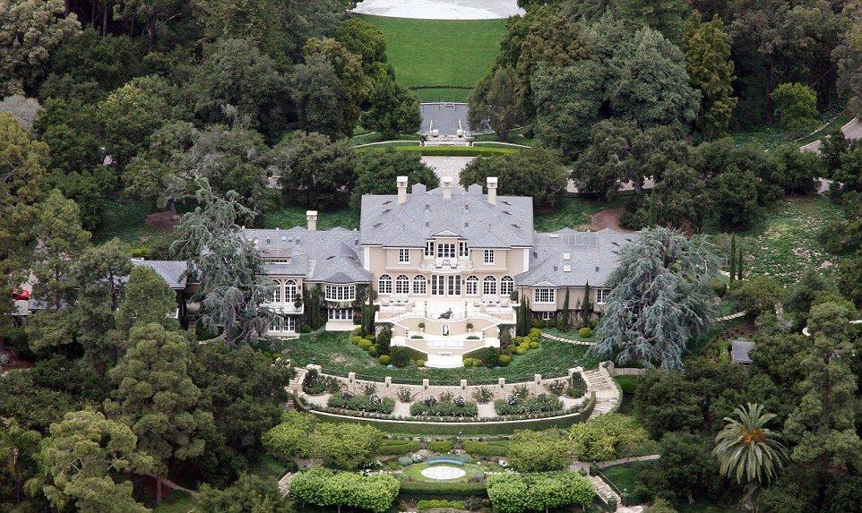 La villa principale di Oprah Winfrey