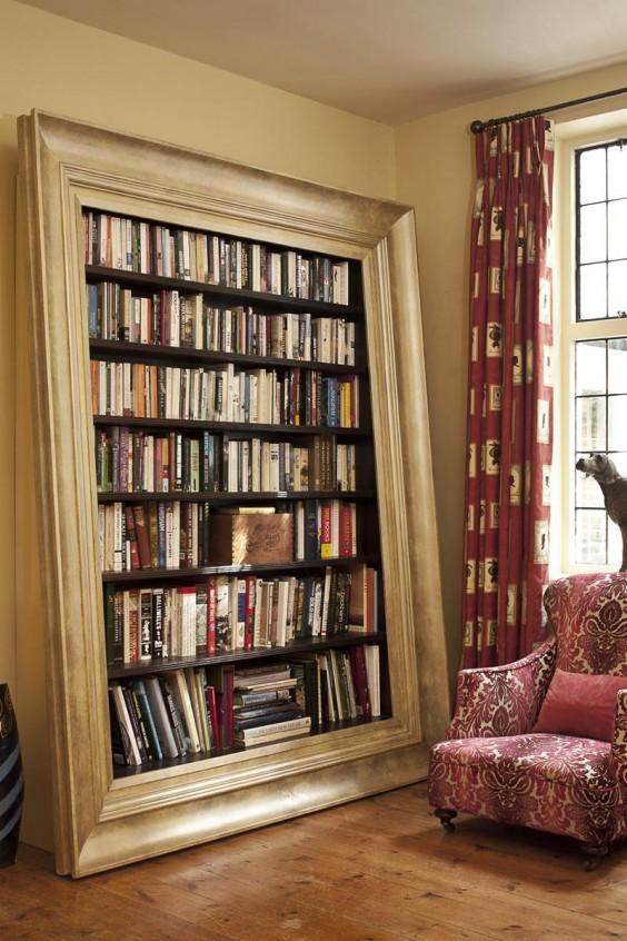 libreria cornice grande