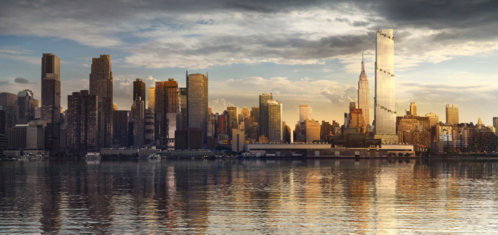 Il primo grattacielo a spirale sar a new york for Comprare casa a new york manhattan