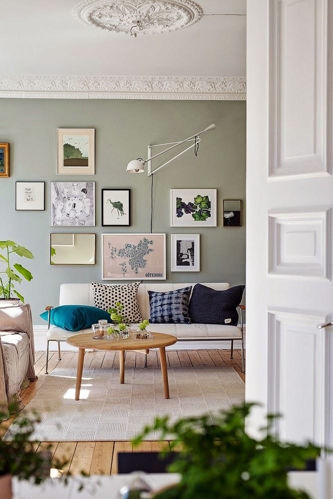 I 6 colori di tendenza per le pareti di casa - Colori muri cucina ...