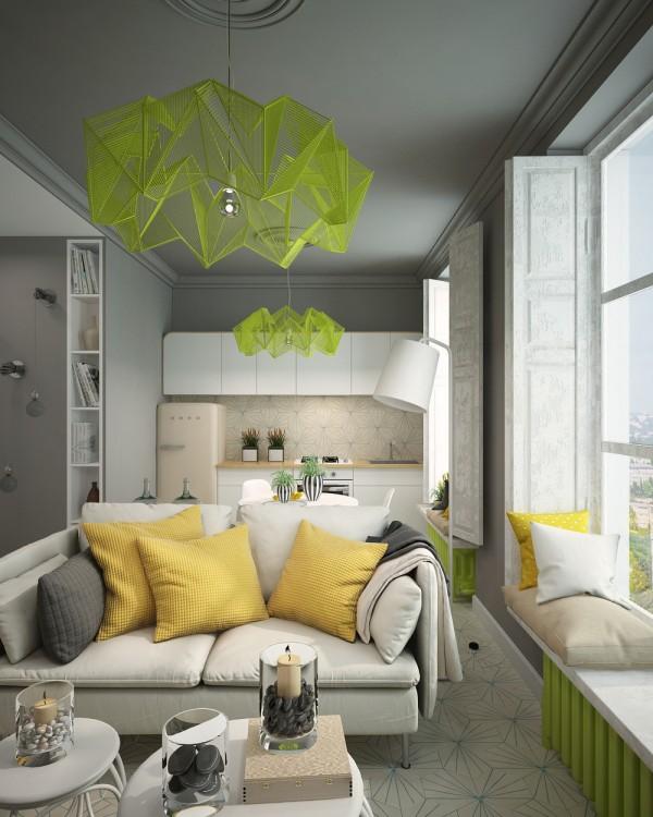La Designer Irina Ovsyannikov Ha Progettato Questo Monolocale Di 28 Mq Per  Creare Un Appartamento Confortevole E Compatto Destinato A Soddisfare Le  Esigenze ...