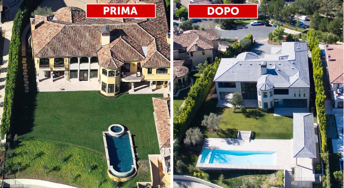 Kim kardashian e kanye west finalmente a casa for Decoracion casa kim kardashian
