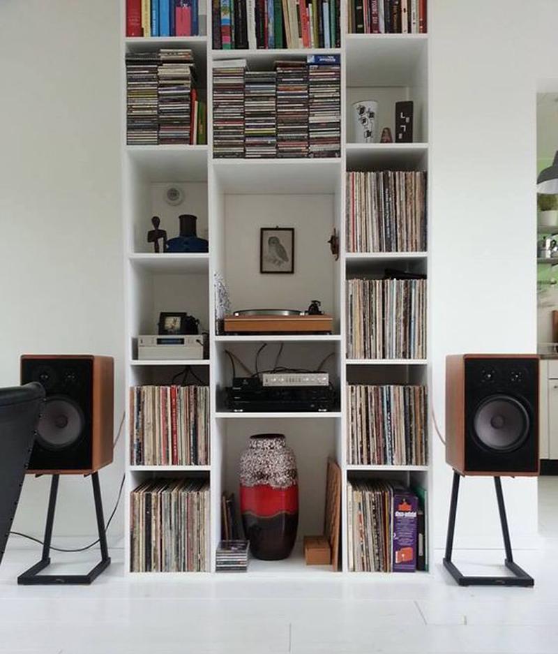 10 idee originali per organizzare l angolo musica for Idee originali casa