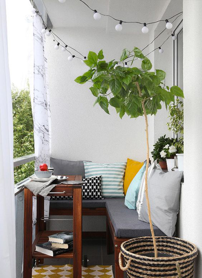 21 idee per arredare un piccolo balcone - casa.it - Idee Arredamento Balcone