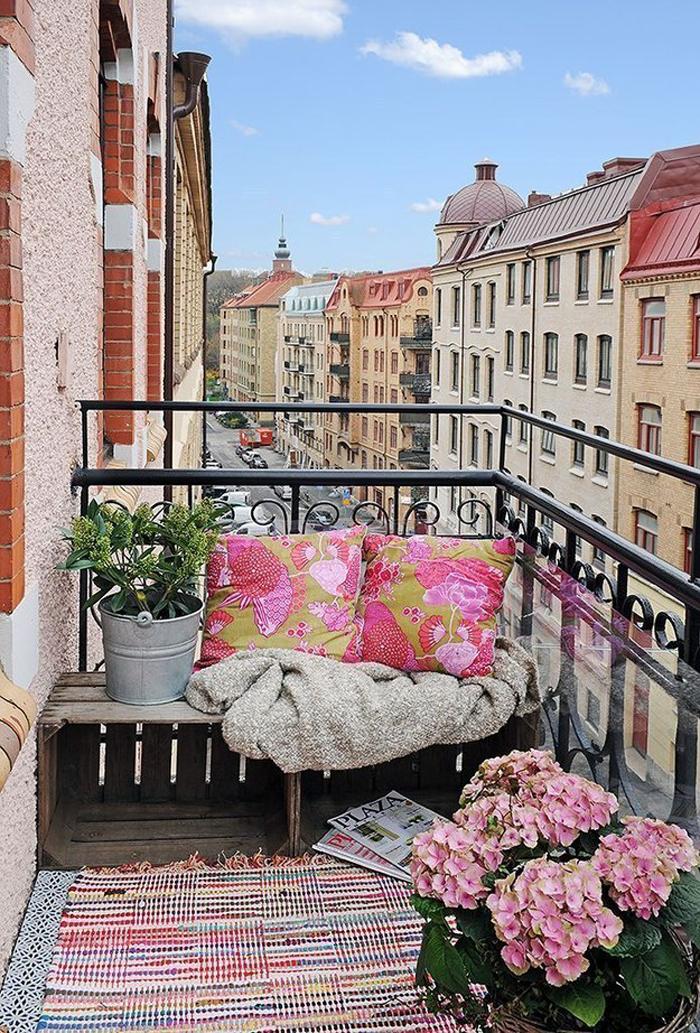 arredare il balcone