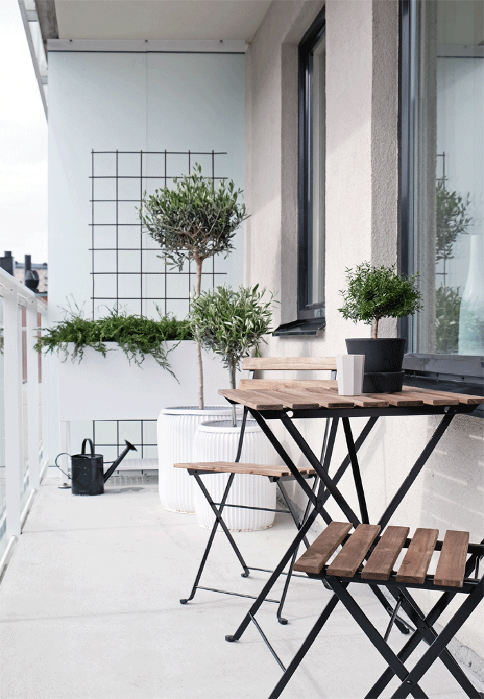 21 idee per arredare un piccolo balcone for Idee per arredare un ufficio
