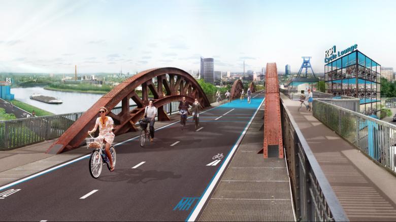 autostrada bicicletta germania