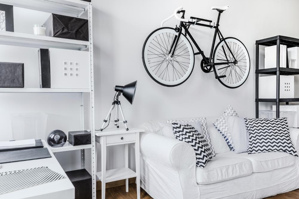 bici in casa