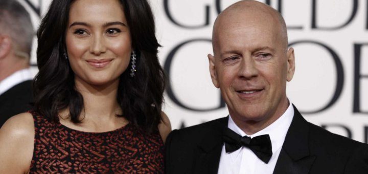 Bruce Willis e la moglie Emma Heming