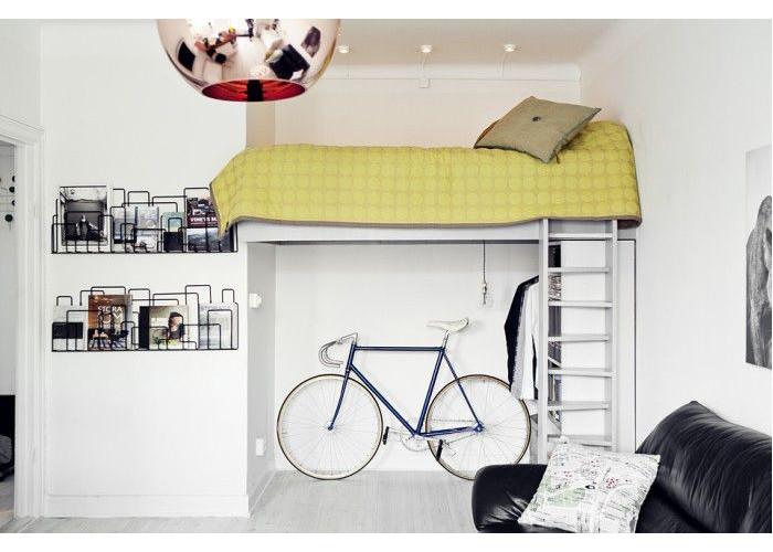 casa con bici