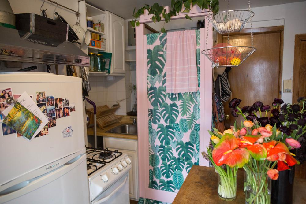 doccia in cucina due