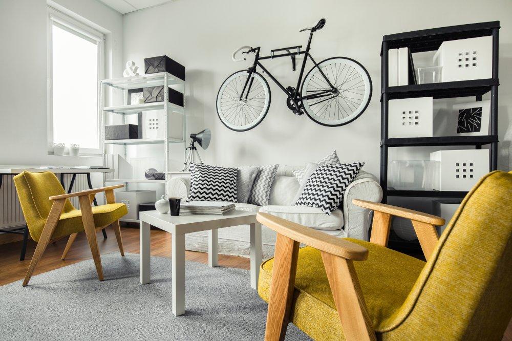 dove mettere la bici in casa