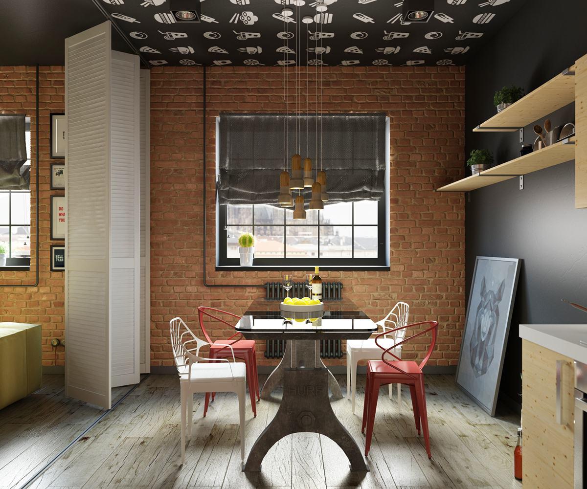 Il rosso in casa: un loft dalla forte identità - Casa.it