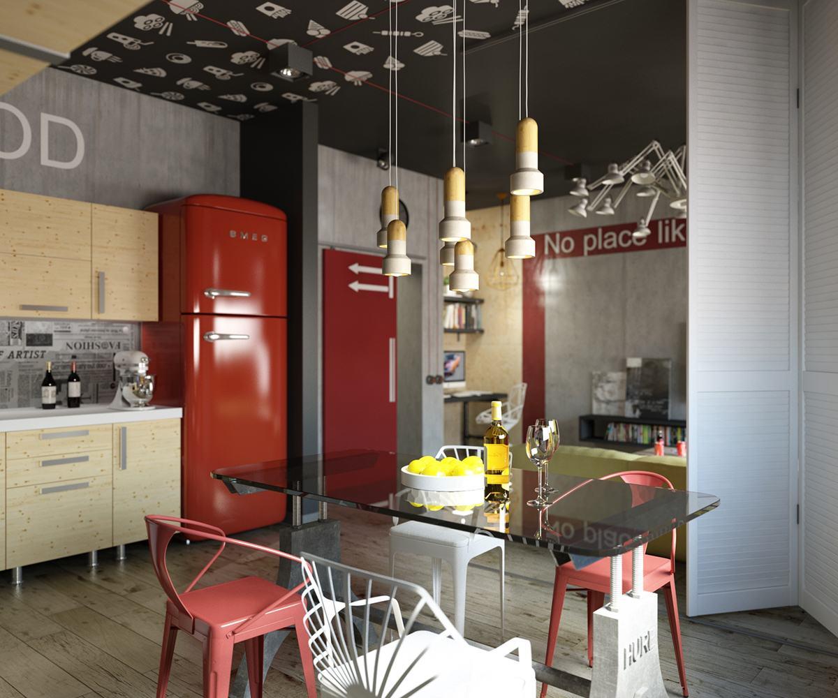 rosso in casa 8