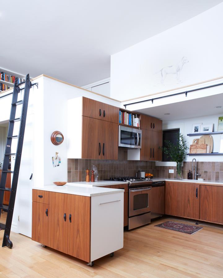 Un mini loft di 58 mq perfettamente organizzato for Fotografie di case
