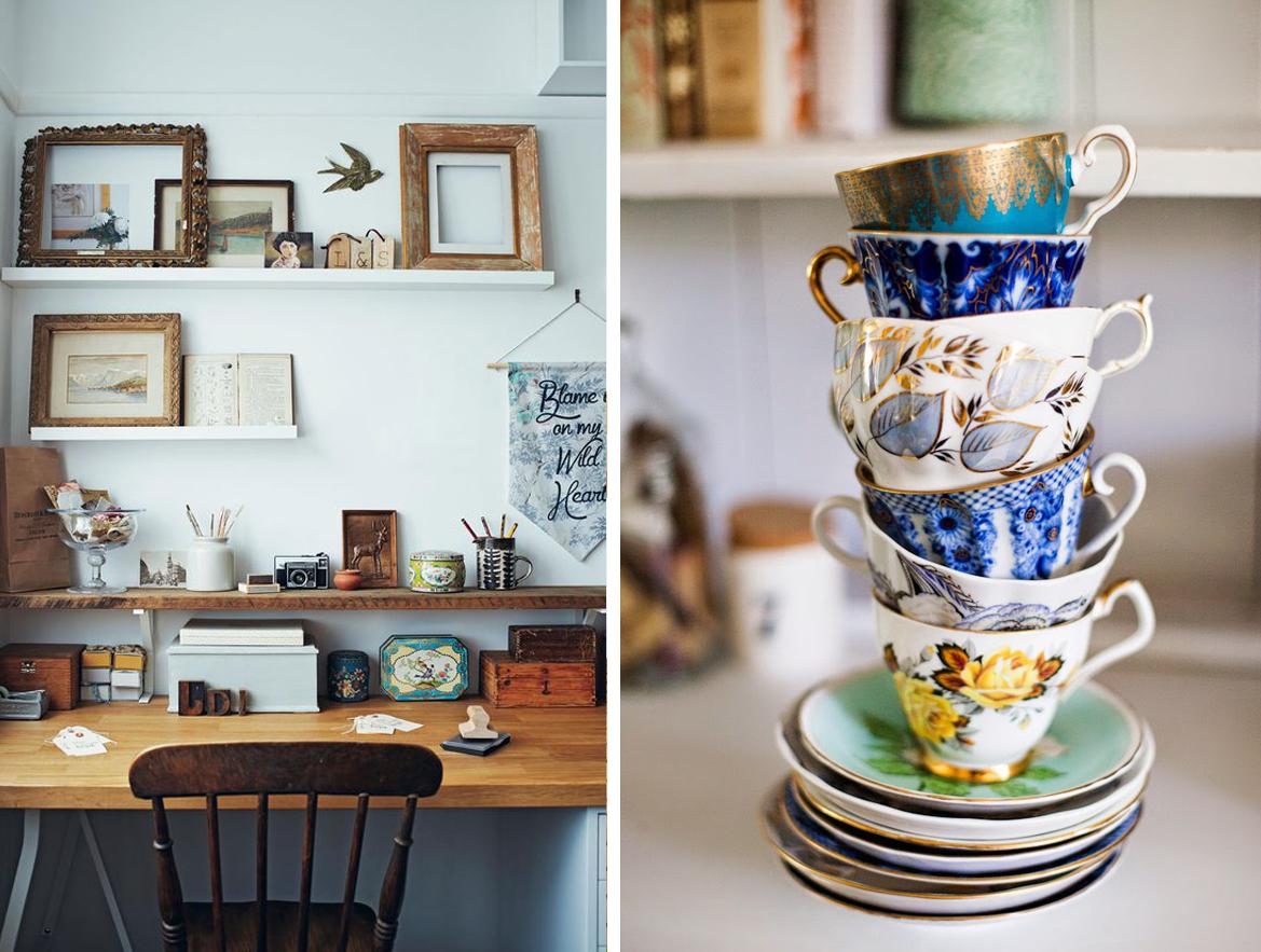 Le nuove tendenze per l arredamento casa Oggetti vintage per casa