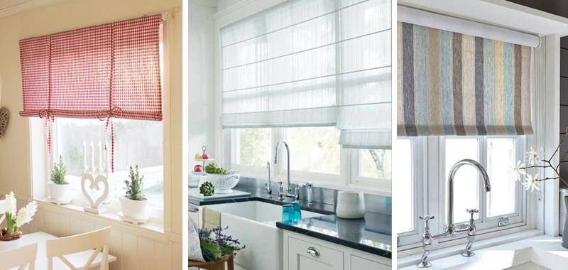 Le tende giuste per ogni ambiente della casa for Tende moderne cucina