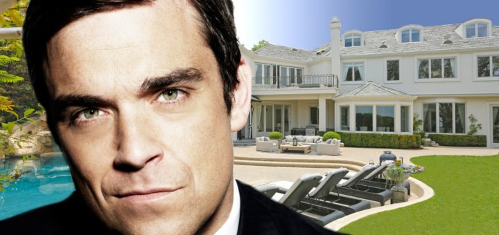 ROBBIE WILLIAMS VILLA BEVERLY HILLS