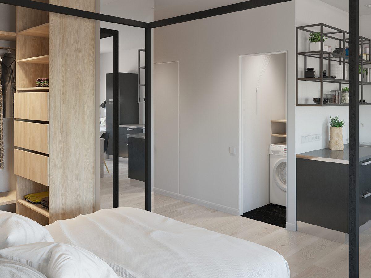 Arredare un monolocale senza rinunciare alla fantasia for Arredare piccoli appartamenti