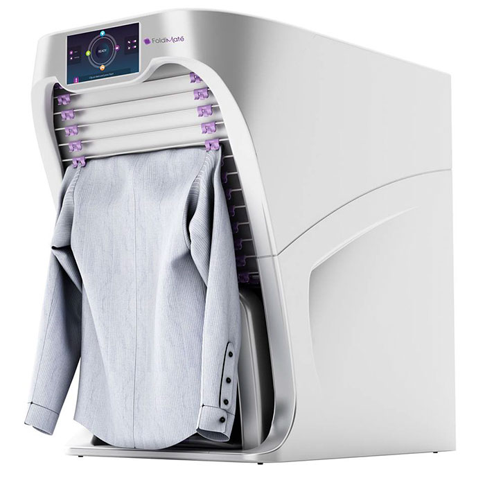 FoldiMate, la macchina che stira e piega il bucato in un minuto
