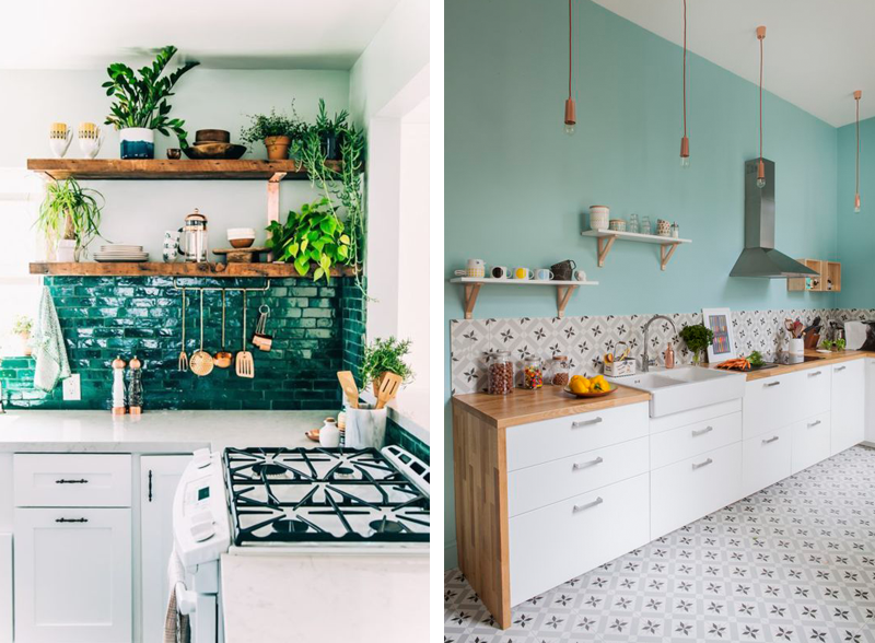 Awesome Piastrelle Colorate Per Cucina Gallery Home